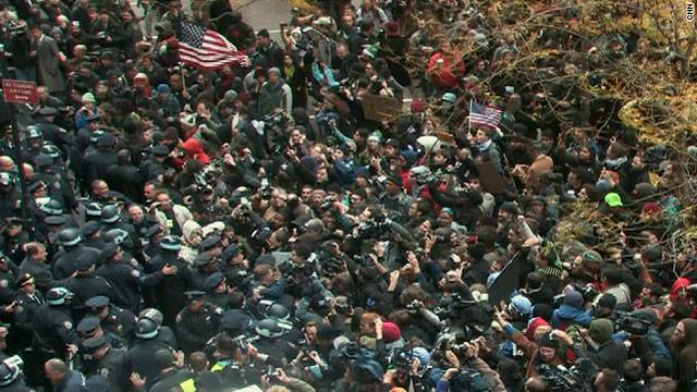 NYC sit-in arrest figure revised downward
