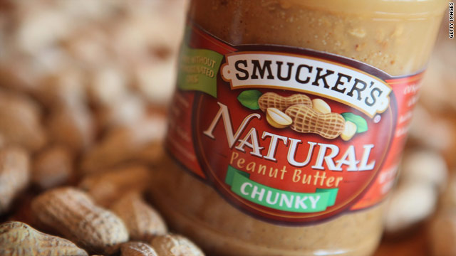 Smucker&#039;s recalls chunky peanut butter over Salmonella fears