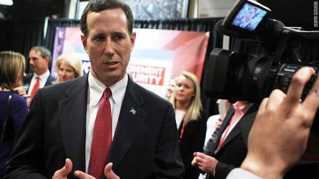Santorum releases economic policy plan, touts it in Iowa