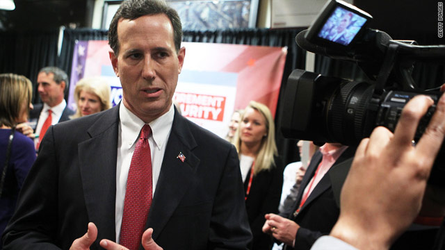 Santorum: Romney would have been &#039;uncomfortable&#039; at Christian forum
