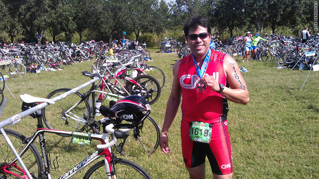My second triathlon was a huge success... Now it&#039;s your turn!