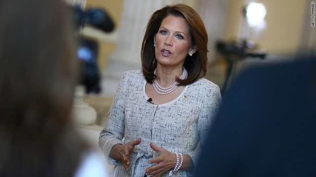 Bachmann: It&#039;s time to &#039;let a woman speak&#039;
