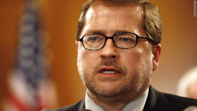 Norquist responds to senator's break with no-tax pledge