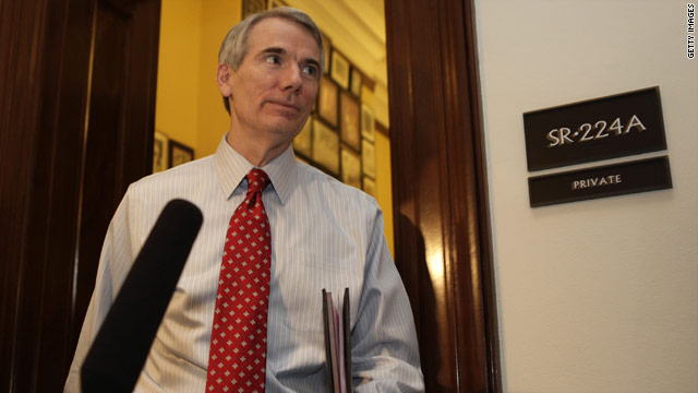 Portman meets with Romney campaign officials