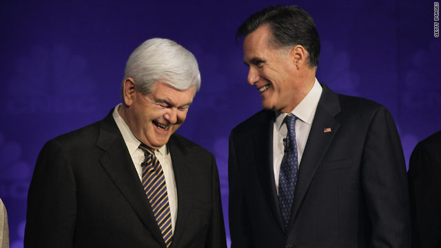 Poll: Romney & Gingrich tied for top spot