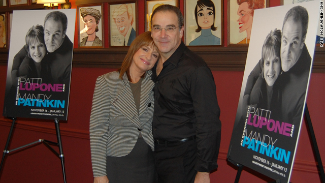 LuPone, Patinkin together on Broadway after 30 years