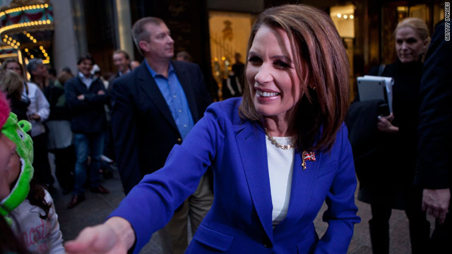 Bachmann's big upset prediction