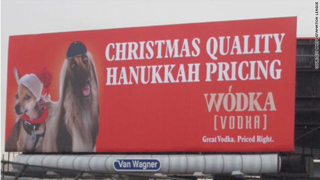 Vodka ad boasting 'Christmas quality' at 'Hanukkah pricing' to come down amid complaints