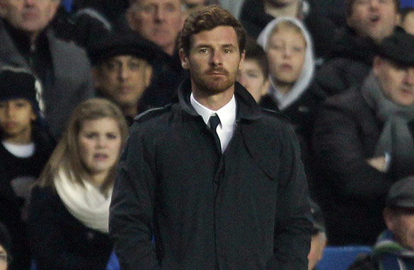 On the brink? Reports in the British media have suggested Andre Villas-Boas' position at Chelsea is under threat.