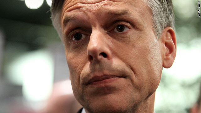 Huntsman's third party help, all in the family?