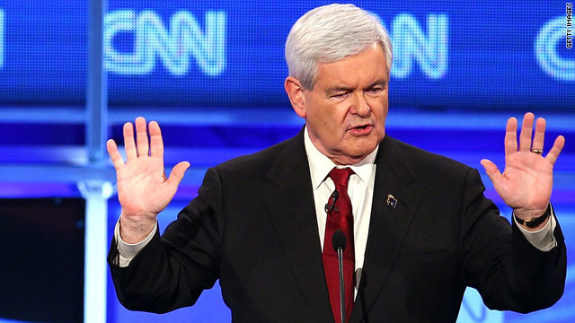 Poll: Gingrich tops GOP field in Iowa