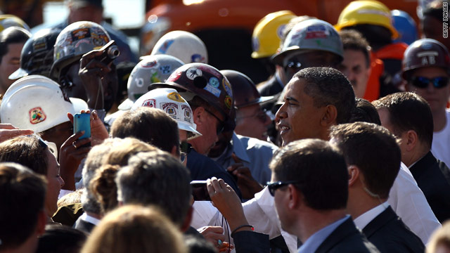 CNN Poll: Blue collar Democrats' support for Obama drops