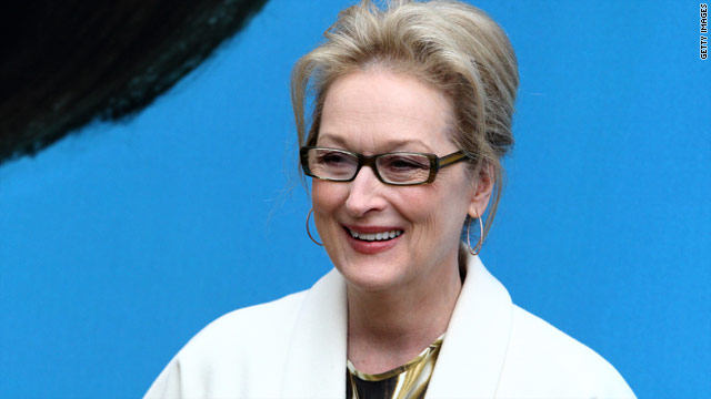 Streep donates portion of 'Iron Lady' paycheck?