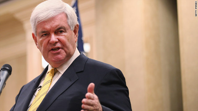 Gingrich calls out own super PAC, sort of