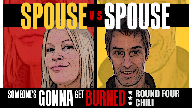 Spouse vs Spouse: Chili cook-off