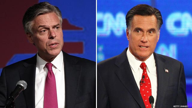 Huntsman: Romney couldn't reform Wall Street