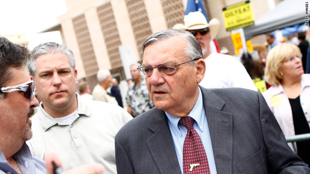 Sheriff Arpaio to campaign with Perry