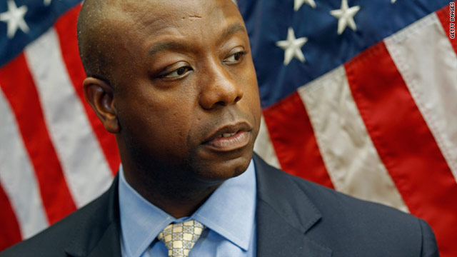 Tim Scott, the ultimate undecided voter