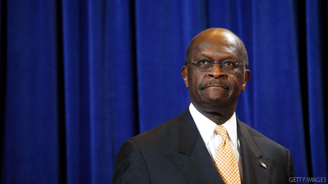 Cain 'reassessing' 2012 campaign
