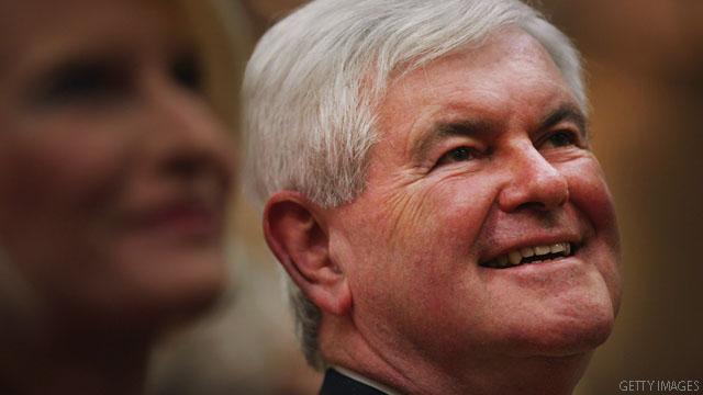 Poll: Gingrich's lead extends to South Carolina