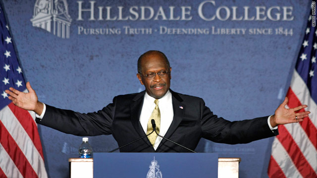 Cain avoids affair controversy, lays out his &#039;doctrine