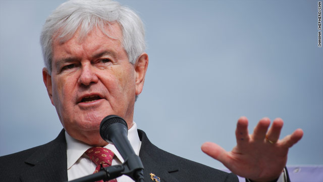 Gingrich aims for &#039;crushing defeat&#039; over Obama