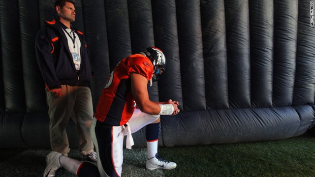 Denver Christians mourn Tebow's departure, say they'll root from afar