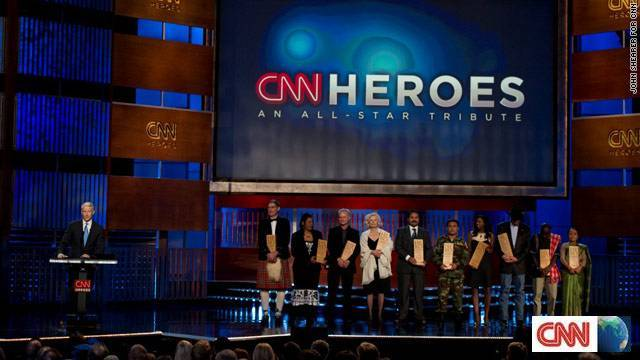 PREVIEW: CNN International Special Programming Information – CNN Heroes: An All-Star Tribute