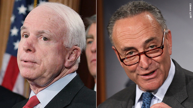 McCain insults Long Island, Schumer hits back at Arizona