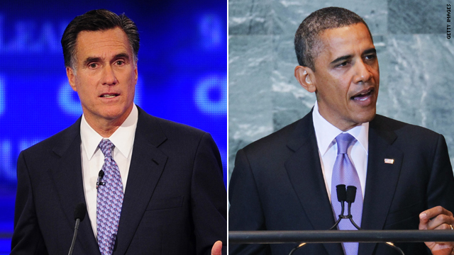 Romney: Obama will 'cower' from debating his record