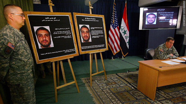 Suspect in soldier killings given back to Iraqis