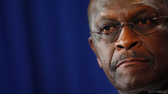 Cain focuses on family amid sexual allegations