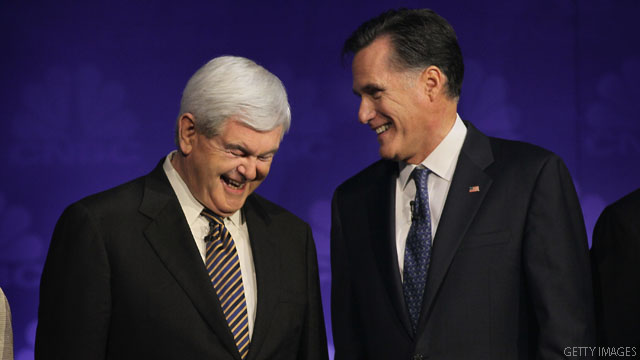 BLITZER'S BLOG: Romney and Gingrich take gloves off