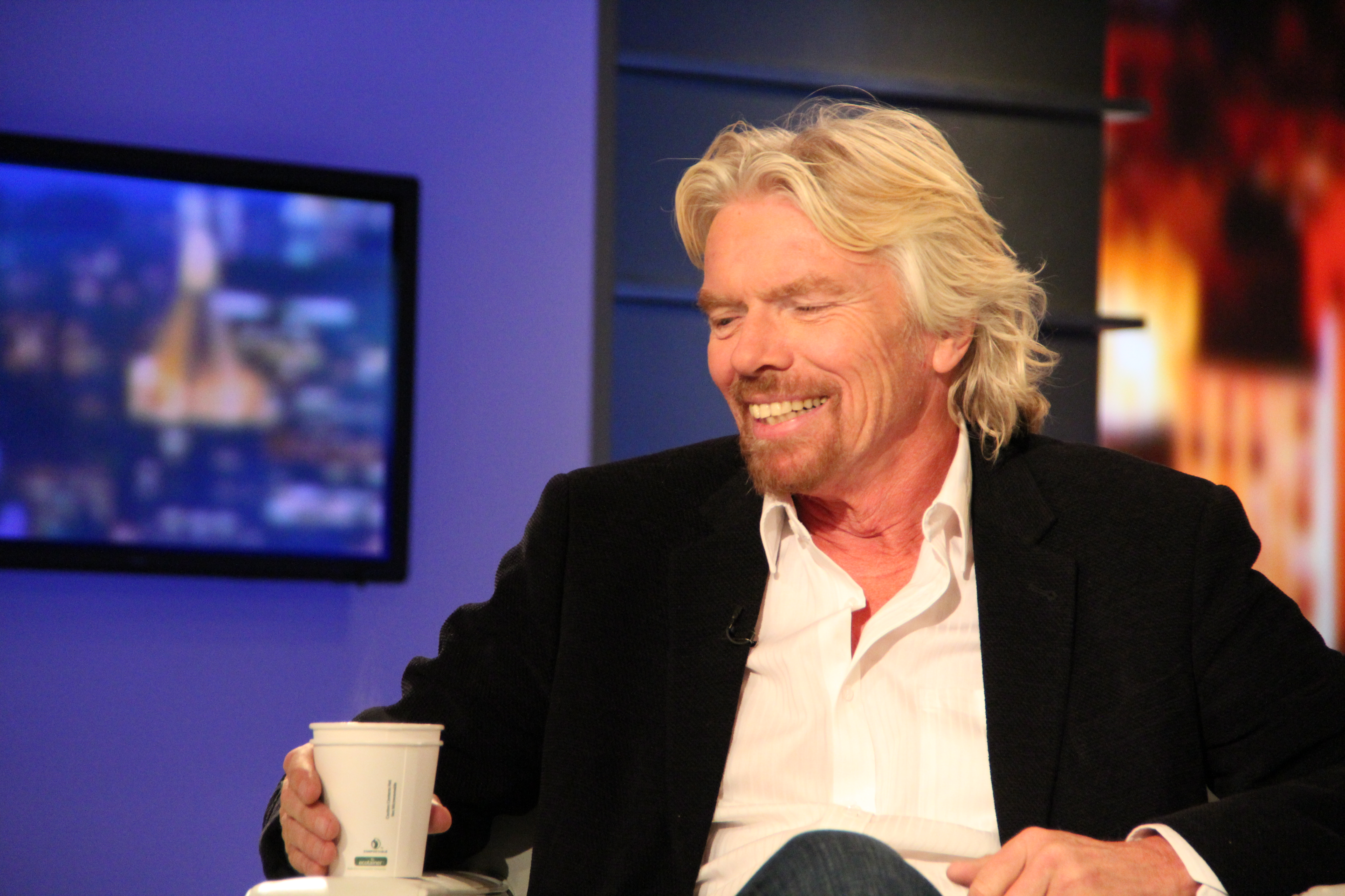 Richard Branson: 'The best businesses are born out of frustration'