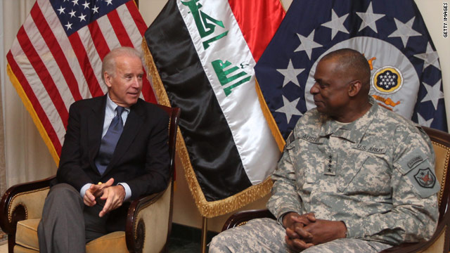 Biden honors U.S., Iraqi troops for sacrifices in Iraq
