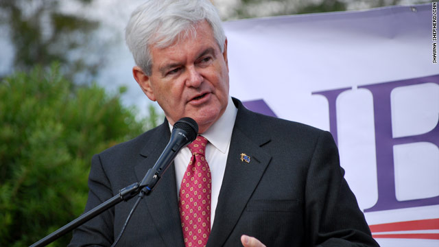 Gingrich lowers expectations, shoots for top three or four in Iowa