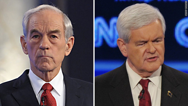 Paul: Gingrich a 'flip-flopper'