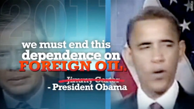 Perry compares Obama to Carter in new ad