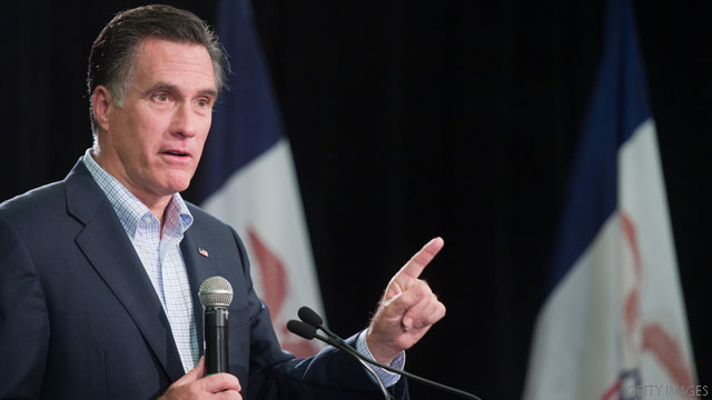 Romney criticizes Obama over jobs