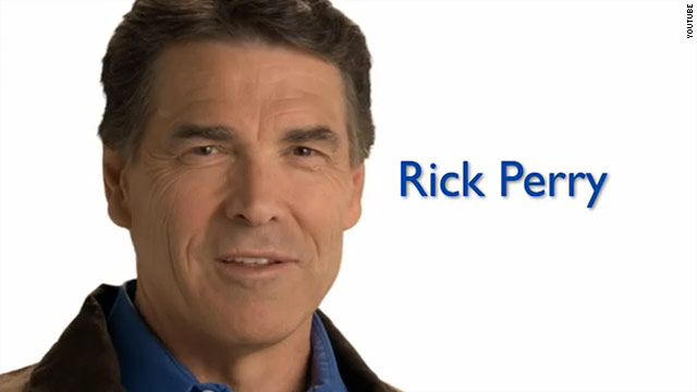 Perry focuses on faith in Iowa ad