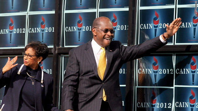 Cain suspends presidential bid