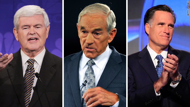 Gingrich ahead in Iowa, poll shows; Romney drops to third