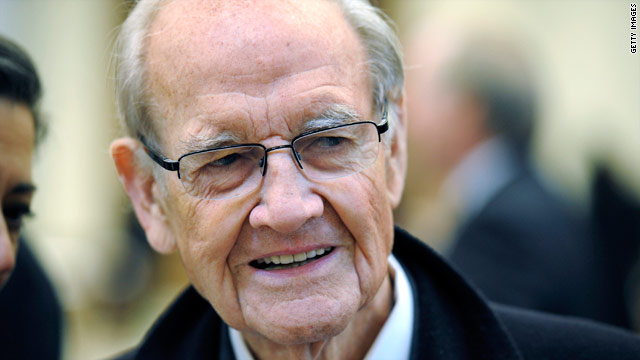 George McGovern admitted to hospice