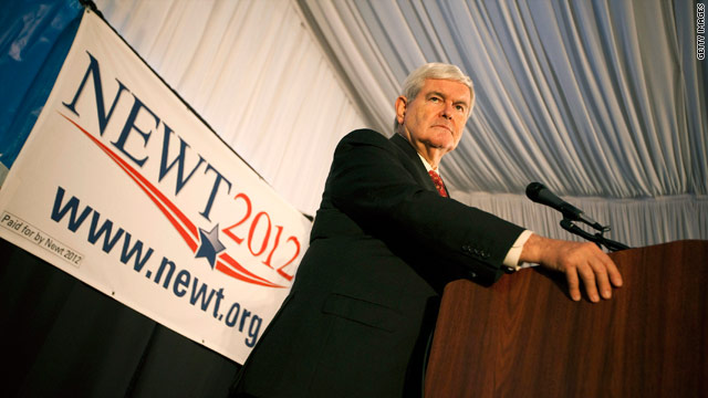 Gingrich tops 4th straight poll in Iowa