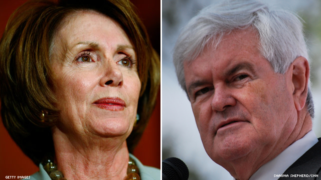 Pelosi ready to tell all on Gingrich
