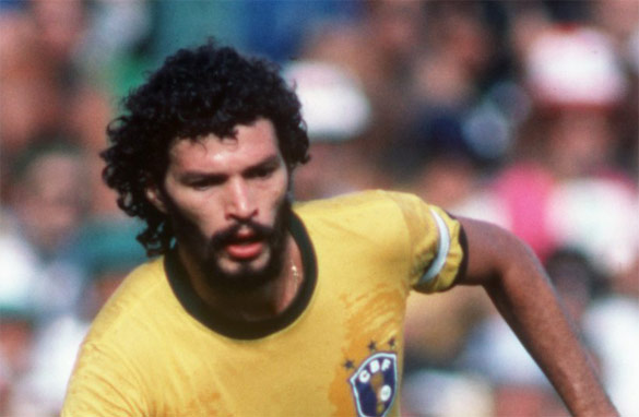 Socrates was the captain and lynchpin of Brazil's 1982 World Cup side -- the greatest team never to win the World Cup.