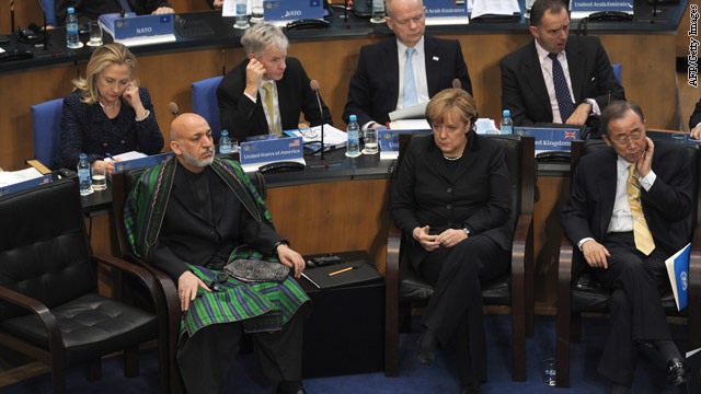 Taliban could return, Karzai warns Bonn conference