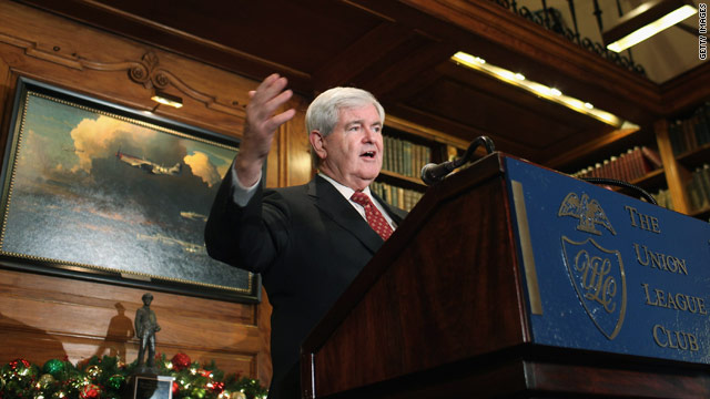 Gingrich ready for 'early Christmas gift' from Pelosi