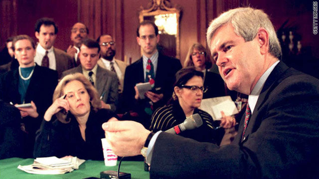 BLITZER'S BLOG: This time Gingrich has the fire