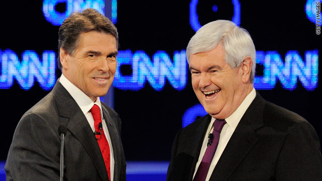 Your questions for Gingrich & Perry